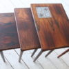 1960s Nest of Danish Rosewood Table 2