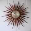 1960s Seth Thomas Sunburst Clock 5