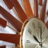1960s Seth Thomas Sunburst Clock 6