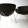 Brown Slice Chairs by Pierre Paulin for Artifort 4