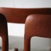 Vintage Teak Dining Chairs by Niels Moller Denmark 2