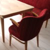 1950s Dining Table Chairs and Bench