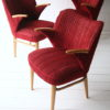 1950s Dining Table Chairs and Bench 6