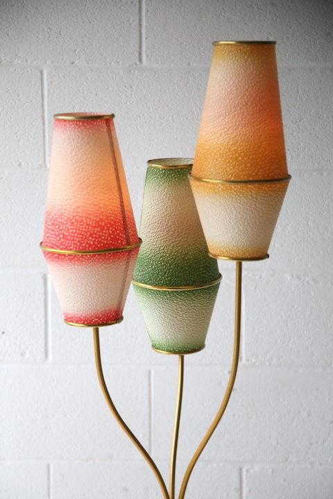 1950s German Floor Lamp