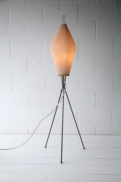 1950s Tripod Floor Lamp 4