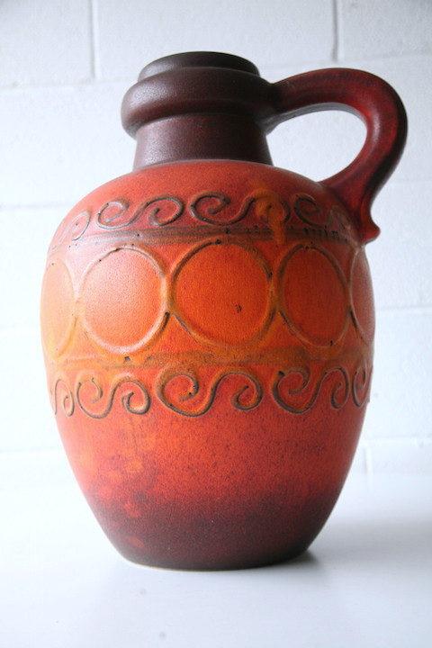 1960s Large West German Floor Vase 1