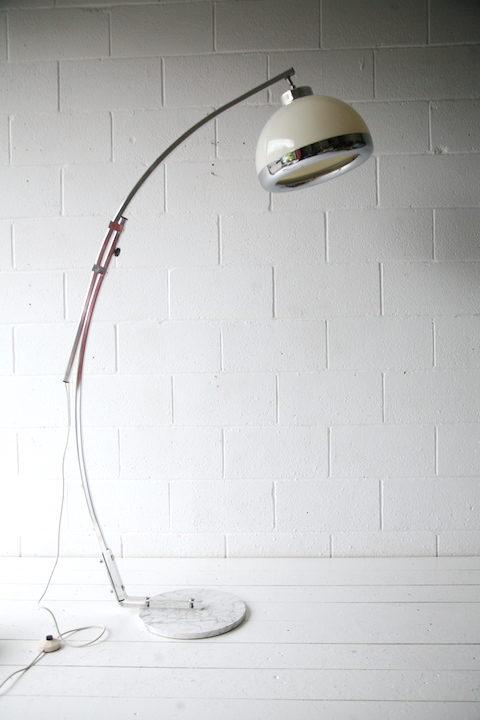 1970s Italian Chrome Arch Lamp 5