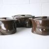 1970s Stacking Casserole Dishe by Morris Rushton for Flesh Pots UK 3