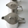 'Oriana' stainless steel Tea Set by Robert Welch for Old Hall