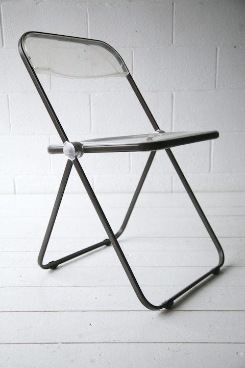 'Plia' Folding Chair by Giancarlo Piretti for Castelli 1