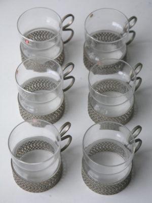 'Tsaikka' Coffee Glasses by Timo Sarpaneva for IIttala Finland