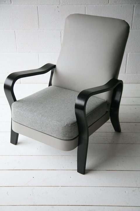 Vintage Bentwood Armchair by Eric Lyons