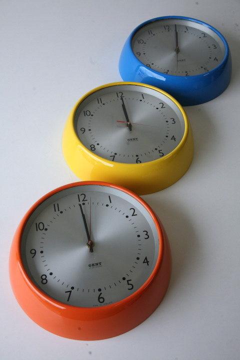 Vintage Gents Wall Clocks