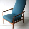 Vintage Reclining Lounge Chair by Alf Svensson 1