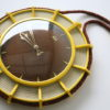 Vintage Wall Clock by UPG Halle 1