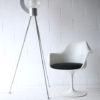 Bespoke Aluminium and Glass Tripod Floor Lamp