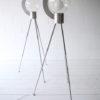 Bespoke Aluminium and Glass Tripod Floor Lamp 4