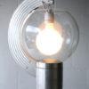 Bespoke Aluminium and Glass Tripod Floor Lamp 6