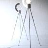 Bespoke Aluminium and Glass Tripod Floor Lamp 7