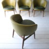Set of 4 1960s Tub Chairs
