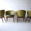 Set of 4 1960s Tub Chairs 3