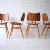 Set of 4 Vintage Ercol 401 'Butterfly' Dining Chairs 4