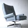 Vintage 1970s Swivel Armchair by Howard Keith 4