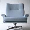 Vintage 1970s Swivel Armchair by Howard Keith 5