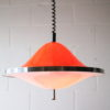 1970s-orange-rise-and-fall-ceiling-light
