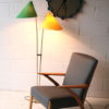 1950s-green-and-yellow-double-floor-lamp