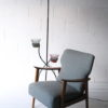 1950s Floor Lamp with Plant Stands 5