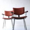 1950s Steel Vinyl Chairs