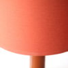 1960s Amber Glass Table Lamps 2