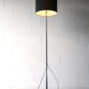1960s Steel Floor Lamp and Shade 2