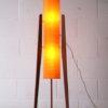 1960s Teak Rocket Lamp 1