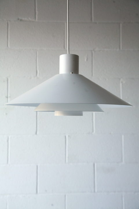 1970s Trapez' Ceiling Light by Christian Hvidt 3