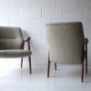 Pair of 1960s Danish Teak Armchairs 2