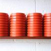 1960s Orange Light Shades by Merchant Adventurers 5