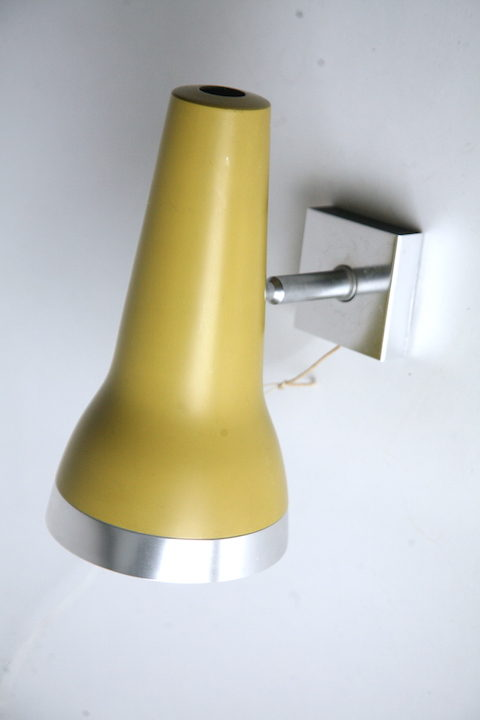 Vintage 1960s Wall Lights by Conelight 1