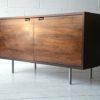 Vintage Danish Rosewood Cabinet by Hundvedad 1