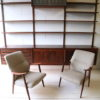 Vintage Danish Rosewood Shelving Unit