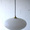 1950s Glass Ceiling Light 2