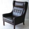 1960s Danish Leather Armchair 1