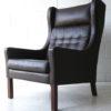 1960s Danish Leather Armchair 4