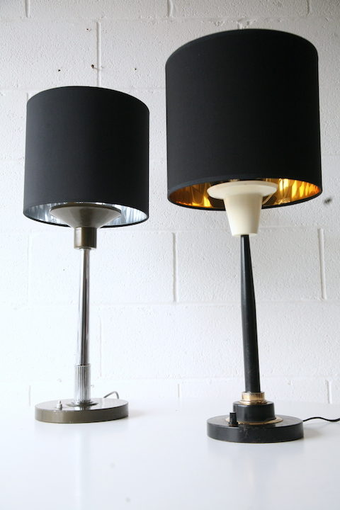 1970s French Table Lamps