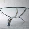 1970s Glass Chrome Table 4