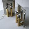 Chrome & Brass Wall Lights by Metalarte Spain 4