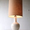 Large Ceramic Table Lamp & Shade