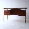 Vintage Danish 1970s Desk by G. Tibergaard 1
