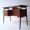 Vintage Danish 1970s Desk by G. Tibergaard 2 1